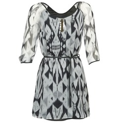 Textiel Dames Korte jurken One Step ROSASITE Grijs / Wit