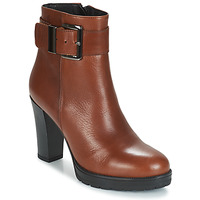 Schoenen Dames Enkellaarzen Betty London JARAMBOLE Brown