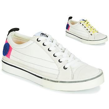Schoenen Dames Lage sneakers Diesel D-VELOWS LOW PATCH W Wit