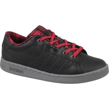 Schoenen Dames Lage sneakers K-Swiss Kswiss Hoke Plaid Noir