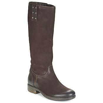 Schoenen Dames Hoge laarzen Dream in Green CHAHINE Brown