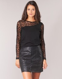 Textiel Dames Tops / Blousjes Moony Mood JOULETTE Zwart