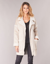 Textiel Dames Mantel jassen Only ONLFELICITY Beige