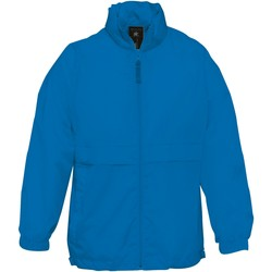 Textiel Kinderen Windjacken B And C Sirocco Royal Blauw
