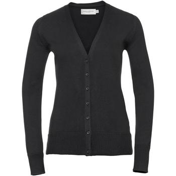 Textiel Dames Vesten / Cardigans Russell Knitted Zwart
