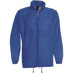 Textiel Heren Windjacken B And C Sirocco Royaal Blauw