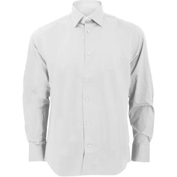 Textiel Heren Overhemden lange mouwen Russell 946M Wit