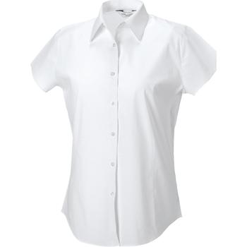 Textiel Dames Overhemden Russell 947F Wit