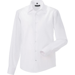 Textiel Heren Overhemden lange mouwen Russell 958M Wit