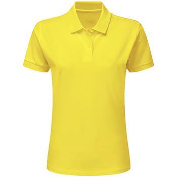 Textiel Jongens Polo's korte mouwen Sg SG59K Geel