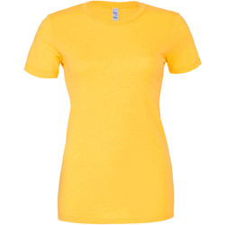 Textiel Dames T-shirts korte mouwen Bella + Canvas BE6004 Geel