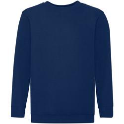 Textiel Kinderen Sweaters / Sweatshirts Fruit Of The Loom 62041 Marine