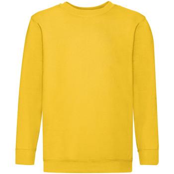 Textiel Kinderen Sweaters / Sweatshirts Fruit Of The Loom 62041 Zonnebloem