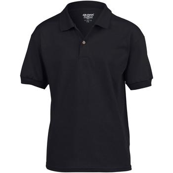 Textiel Kinderen T-shirts & Polo's Gildan Jersey Zwart