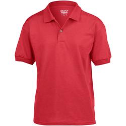 Textiel Kinderen Polo's korte mouwen Gildan Jersey Rood
