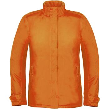 Textiel Dames Windjacken B And C Real+ Oranje