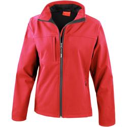Textiel Dames Fleece Result Performance Rood