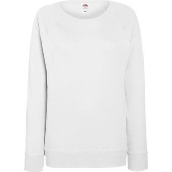 Textiel Dames Sweaters / Sweatshirts Fruit Of The Loom Raglan Wit