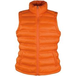 Textiel Dames Dons gevoerde jassen Result Ice Bird Oranje