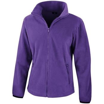 Textiel Dames Fleece Result Core Paars