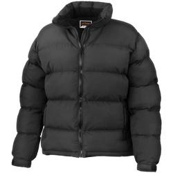 Textiel Dames Dons gevoerde jassen Result R181F Zwart