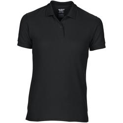 Textiel Dames Polo's korte mouwen Gildan 75800L Zwart