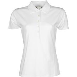 Textiel Dames Polo's korte mouwen Tee Jays Stretch Wit