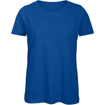 Textiel Dames T-shirts korte mouwen B And C TW043 Koninklijk