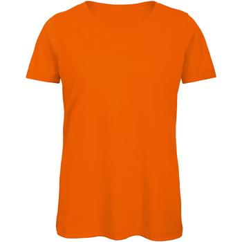 Textiel Dames T-shirts korte mouwen B And C Organic Oranje