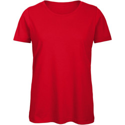 Textiel Dames T-shirts korte mouwen B And C TW043 Rood