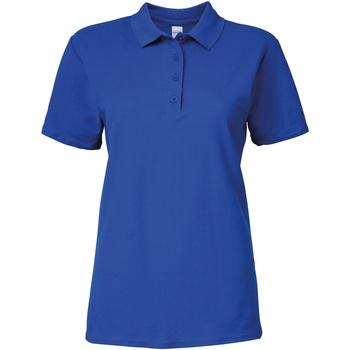 Textiel Dames Polo's korte mouwen Gildan 64800L Koninklijk