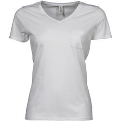 Textiel Dames T-shirts korte mouwen Tee Jays TJ5003 Wit