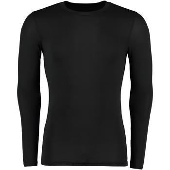 Textiel Heren T-shirts met lange mouwen Gamegear Warmtex Zwart