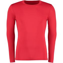 Textiel Heren T-shirts met lange mouwen Gamegear Warmtex Rood