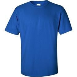 Textiel Heren T-shirts korte mouwen Gildan Ultra Koninklijk