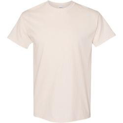 Textiel Heren T-shirts korte mouwen Gildan Heavy Natuurlijk