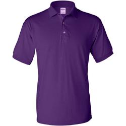 Textiel Heren Polo's korte mouwen Gildan Jersey Paars