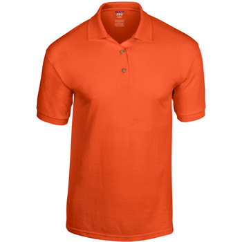 Textiel Heren Polo's korte mouwen Gildan Jersey Oranje