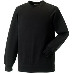 Textiel Kinderen Sweaters / Sweatshirts Jerzees Schoolgear Raglan Zwart