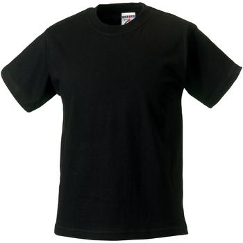 Textiel Kinderen T-shirts korte mouwen Jerzees Schoolgear Classics Zwart