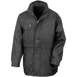 Textiel Heren Mantel jassen Result Premium Zwart