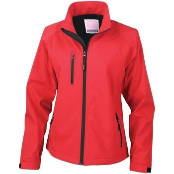 Textiel Dames Fleece Result Breathable Rood