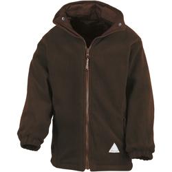 Textiel Kinderen Fleece Result R160JY Bruin