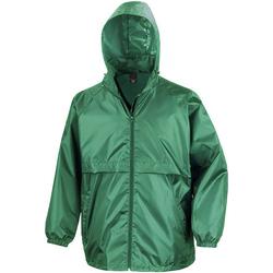 Textiel Heren Windjacken Result Windcheater Smaragd