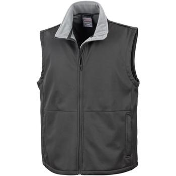 Textiel Heren Vesten / Cardigans Result Soft Shell Zwart