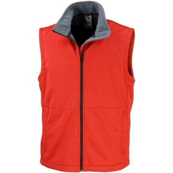 Textiel Heren Vesten / Cardigans Result Soft Shell Rood