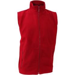 Textiel Heren Vesten / Cardigans Result Active Rood