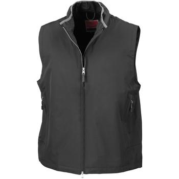 Textiel Heren Vesten / Cardigans Result Gilet Zwart
