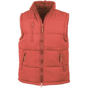 Textiel Heren Dons gevoerde jassen Result Windproof Rood