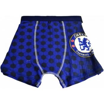 Ondergoed Jongens Boxershorts Chelsea Fc  Blauw
